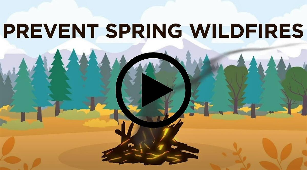 Prevent Spring Wildfires Video (edson) cropped